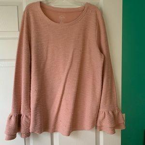 St. John's bay pink sweater